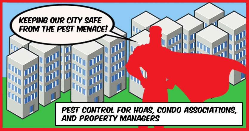 Pest Control for HOAs, Condo Associations, and Property Managers