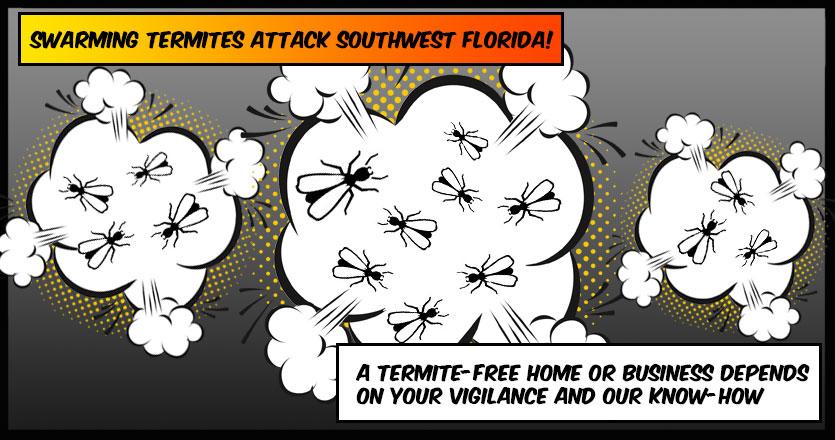 Southwest Florida Subterranean Termite Season is here