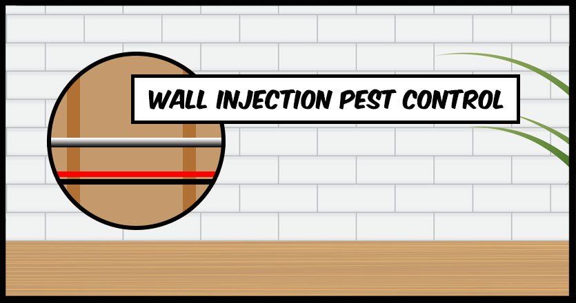 Wall Injection Pest Control